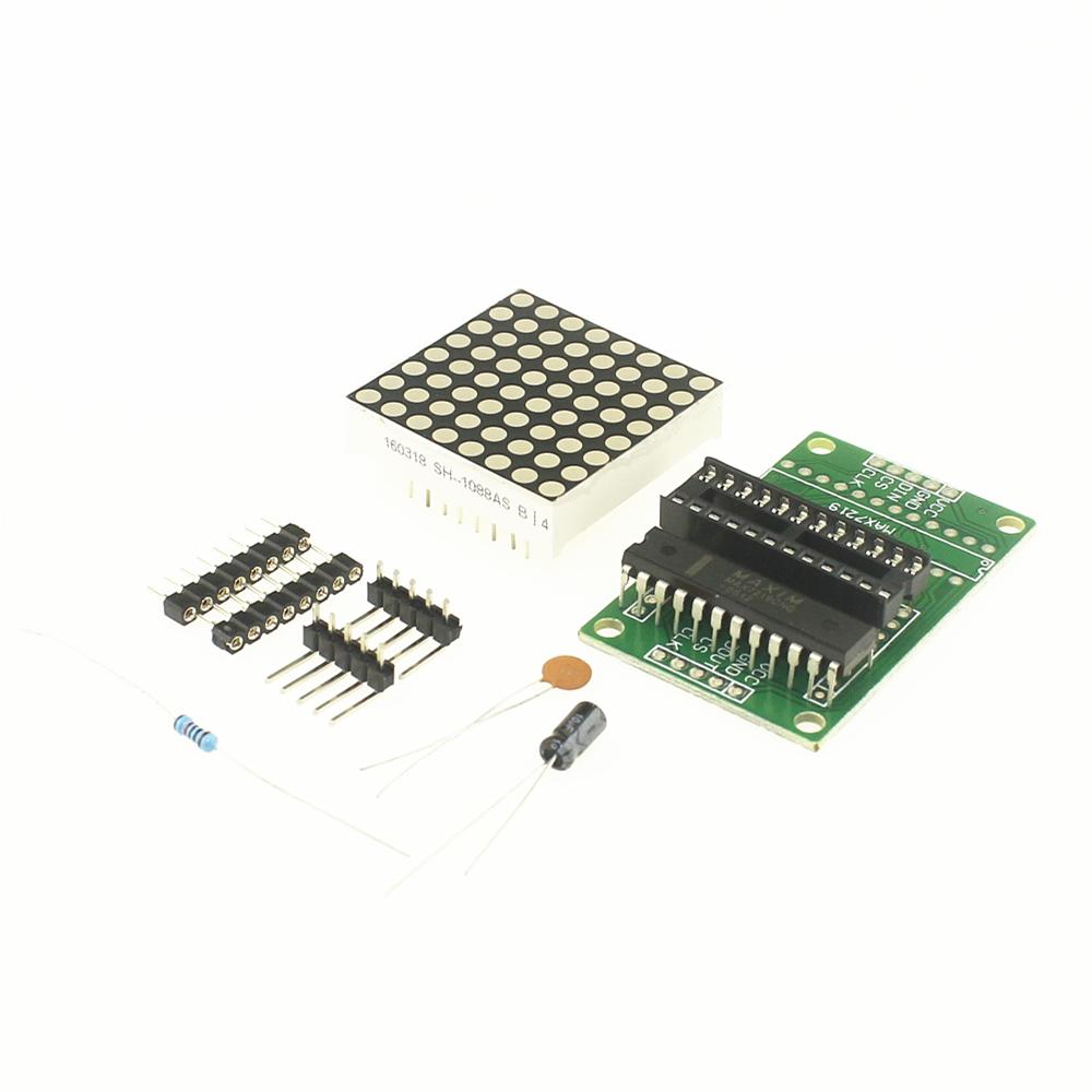 MAX7219 - kit com componentes soltos